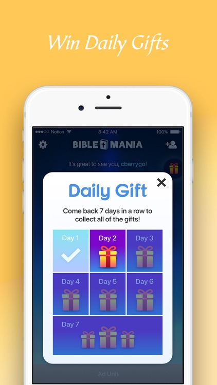 BibleMania - Christian Trivia screenshot-5