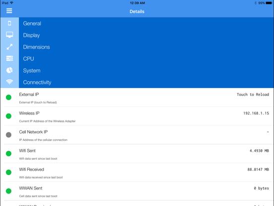 Lirum Device Info Lite - System Monitor screenshot