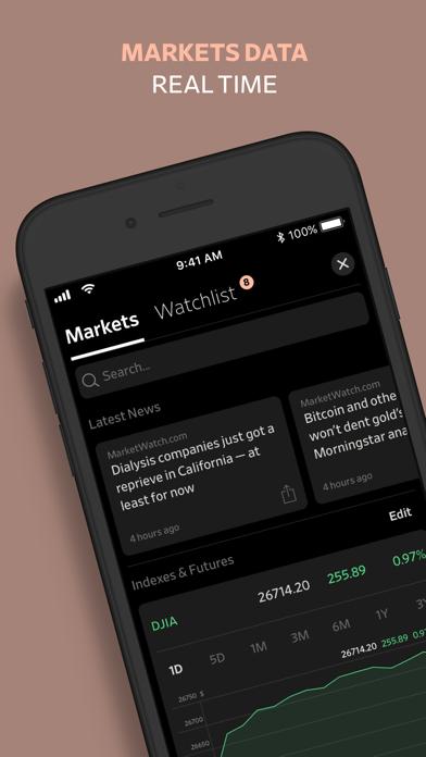 WSJ City: Business & Finance Screenshot