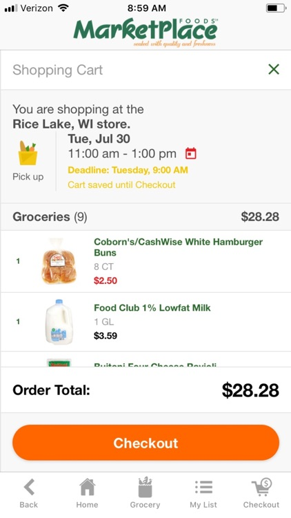 MarketPlace Foods WI screenshot-4
