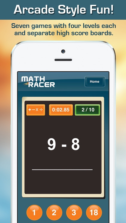 Math Racer Deluxe screenshot-1