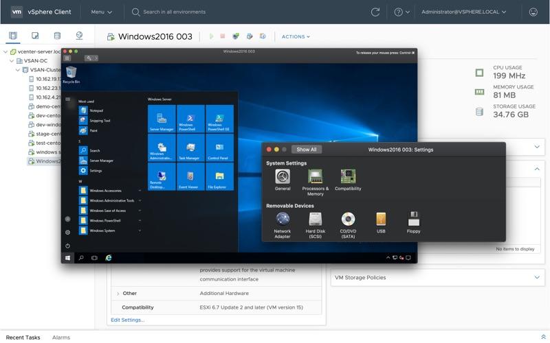 VMware Remote Console for Mac