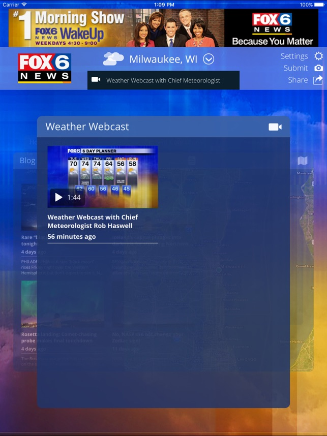 FOX6 Milwaukee Weather on the App Store