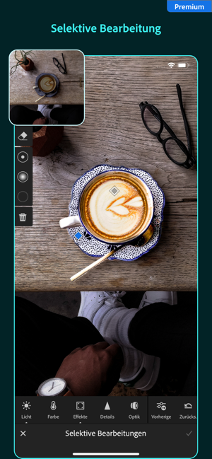 ‎Adobe Lightroom – Foto-Editor Screenshot