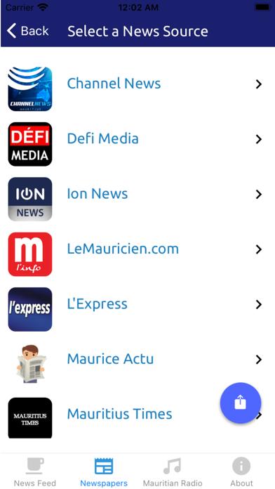 Mauritius News and Radio screenshot three