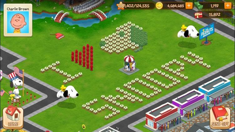 Peanuts: Snoopy Town Tale screenshot-5