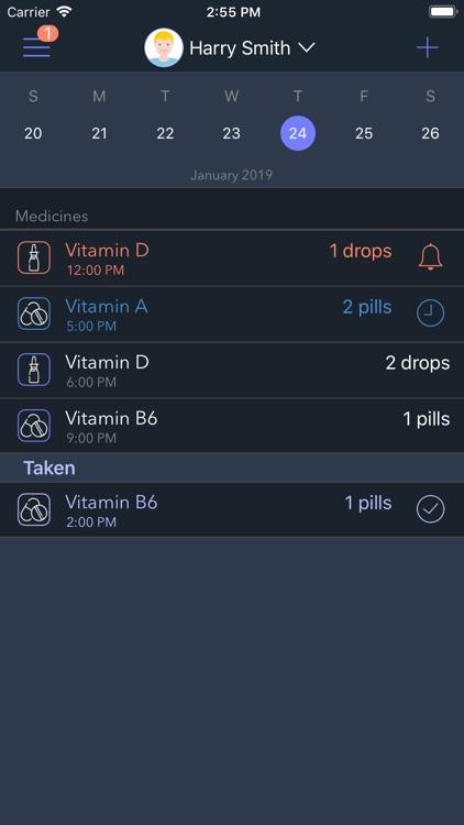 Mr. Pillster pill reminder rx screenshot-4
