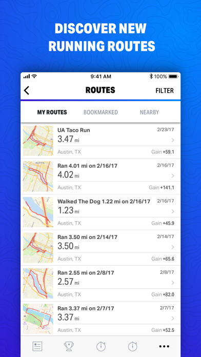 Map My Fitness by Under Armourのおすすめ画像4