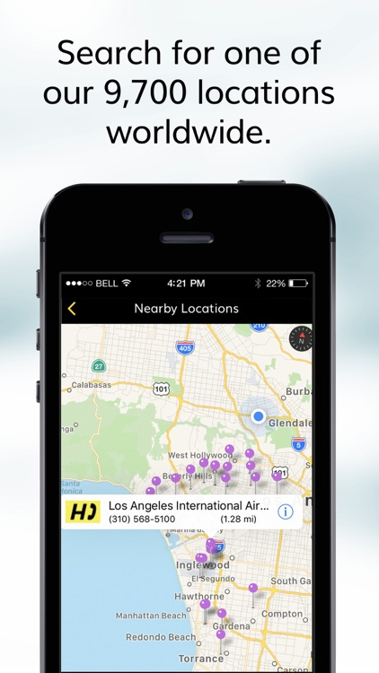 Hertz Car Rentals screenshot-4