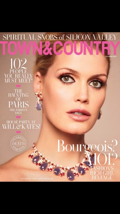 Town & Country Magazine US Screenshot