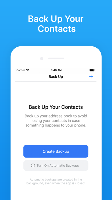 messages.download Contacts Backup + Transfer software