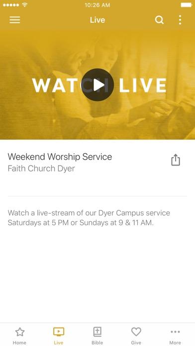 Faith Church - We Are Faith screenshot two