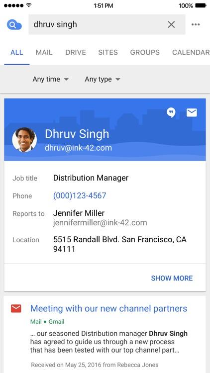 Google Cloud Search screenshot-3