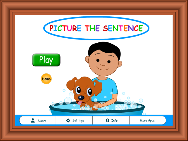 ‎Picture the Sentence HD Lite Screenshot