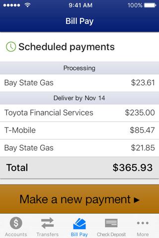 Arizona Federal Mobile Banking - náhled