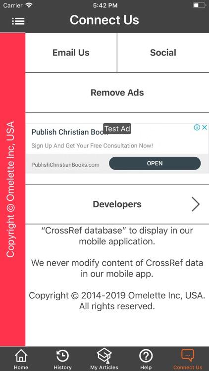 CrossRef HUB screenshot-6