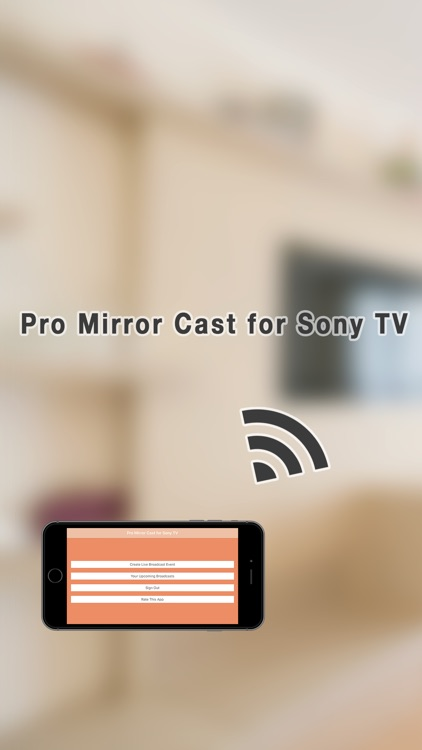 Pro Mirror Cast for Sony TV