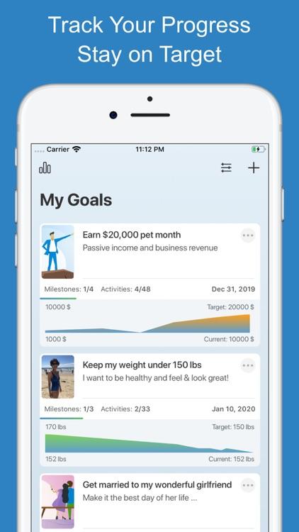 Goal Setting Tracker Planner screenshot-4