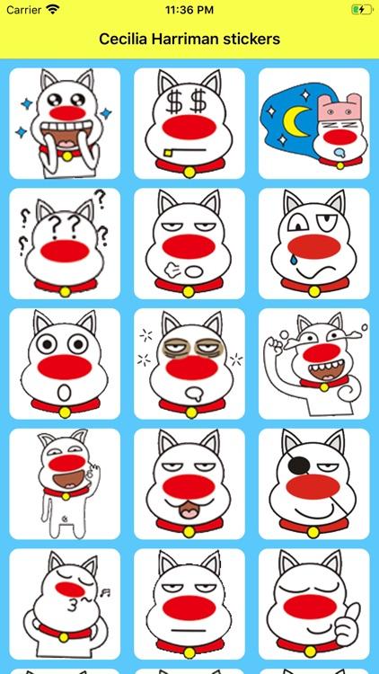 Cecilia Harriman stickers
