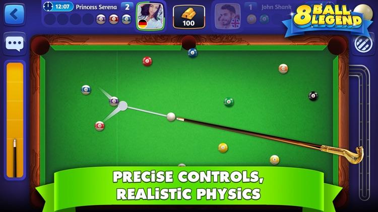 8 Ball Legend - Online Pool screenshot-0