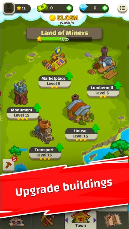 Merge Miners: Idle Tycoon screenshot-4