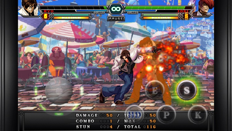 THE KING OF FIGHTERS-i 2012 screenshot-3