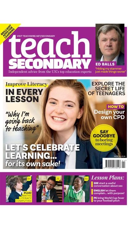Teach Secondary Magazine screenshot-7