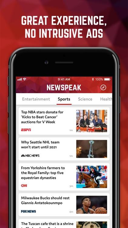 Newspeak: News AI screenshot-4