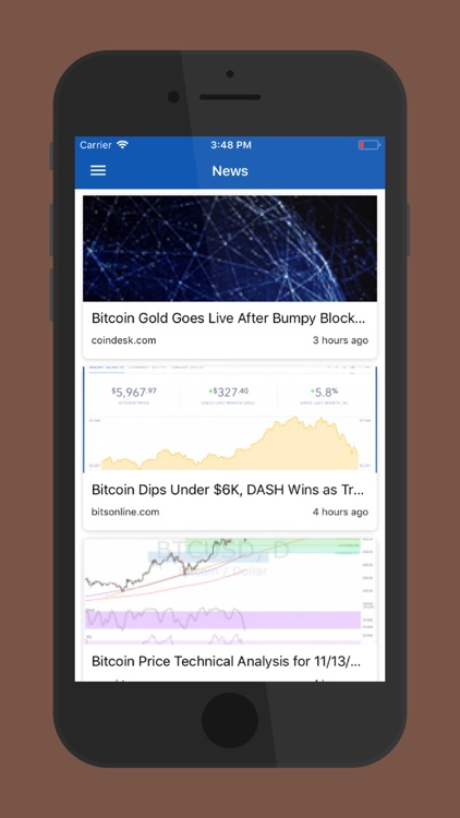Cryptocurrency Bitcoin Price screenshot-4