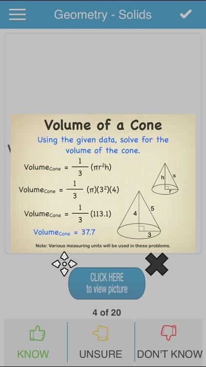 PCAT Math Cram Cards screenshot-3