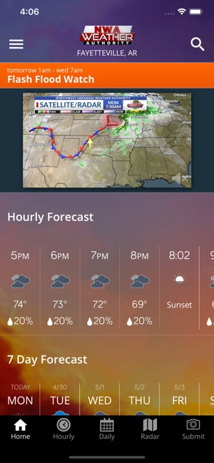 NWA Weather Authority on the App Store