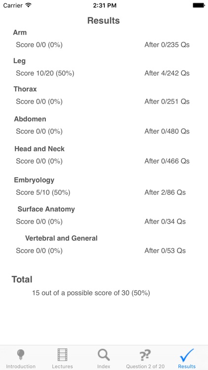 Anatomy Revision screenshot-3