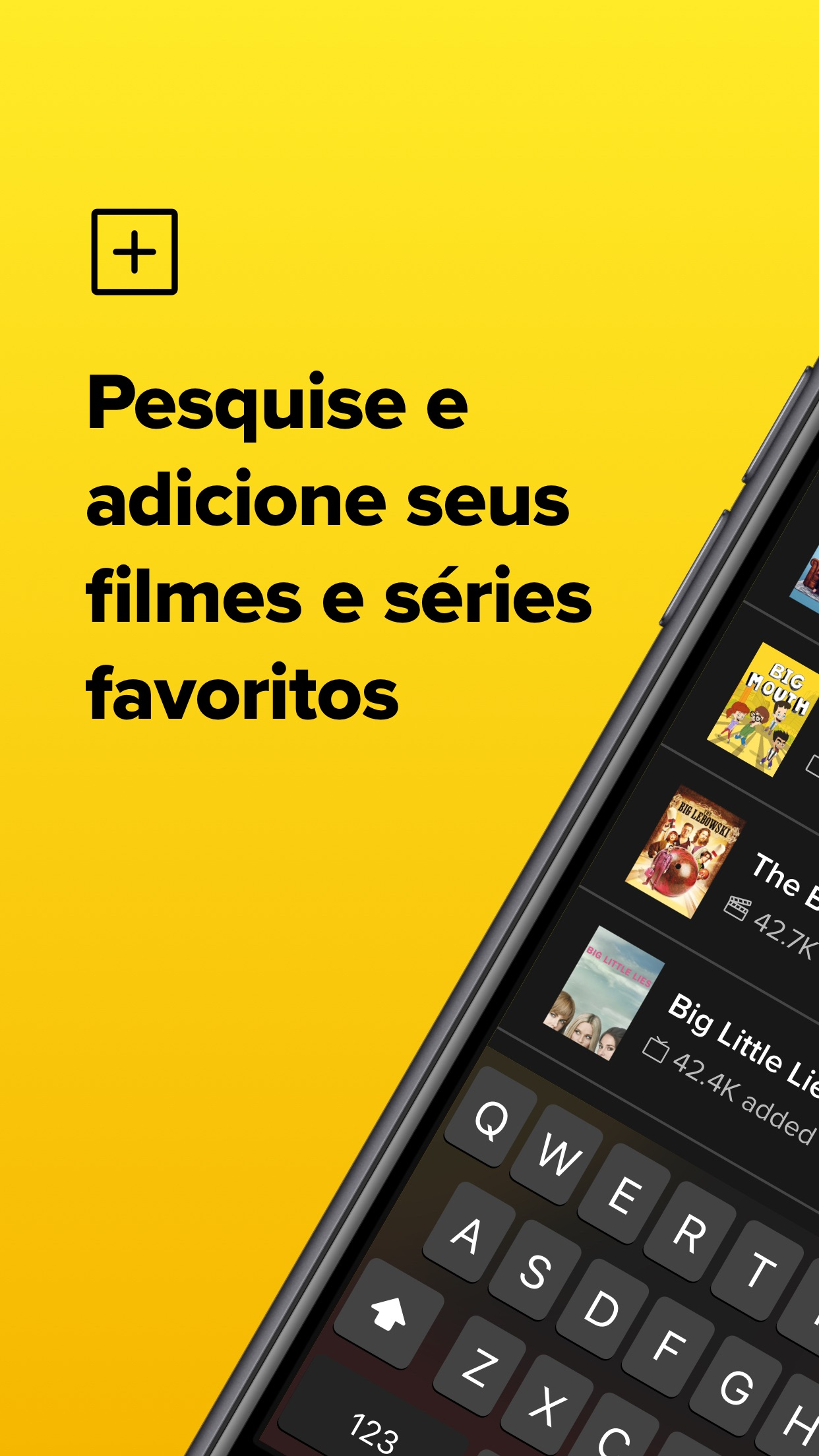 Screenshot do app TV Time: Seguir Séries e filme