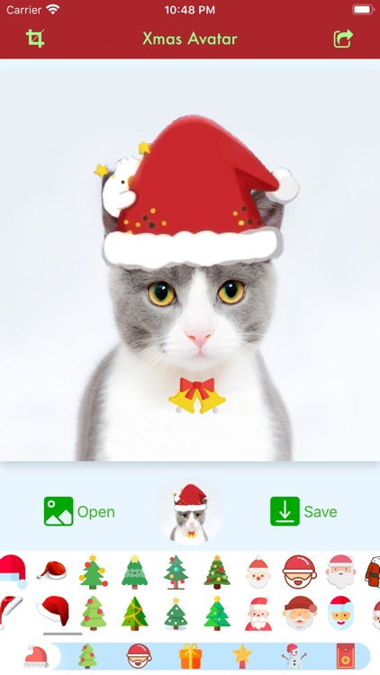 Xmas Avatar: Add Santa Hat screenshot-4