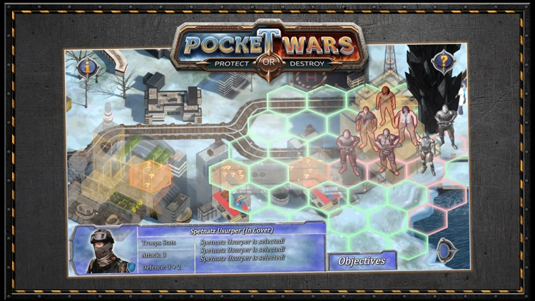 Pocket Wars Protect or Destroy screenshot-6