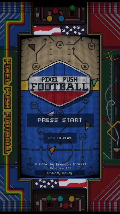 Pixel Push Football screenshot-3