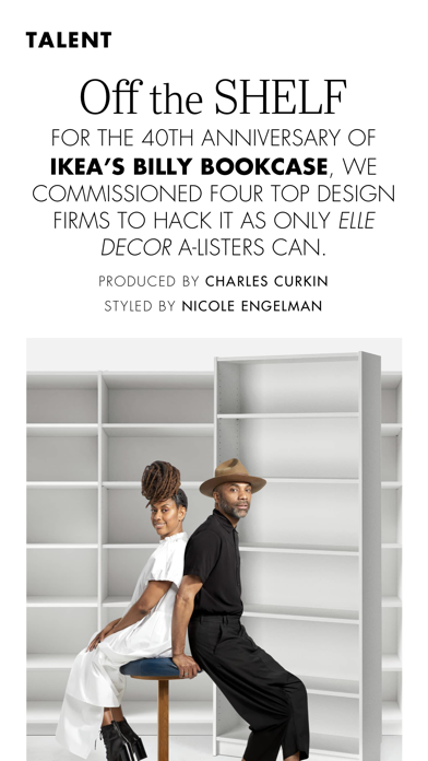 ELLE Decor Magazine US Screenshot