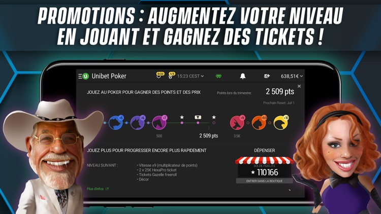 Unibet Poker France screenshot-4