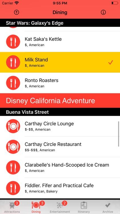Theme Park Checklist: Anaheim