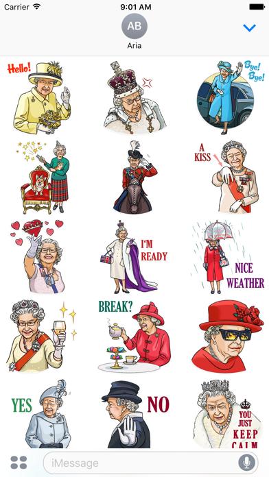 Our Queen Elizabeth II Sticker screenshot 1