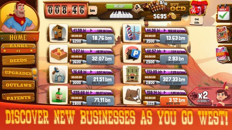 Wild West: Idle Tycoon Clicker screenshot-3