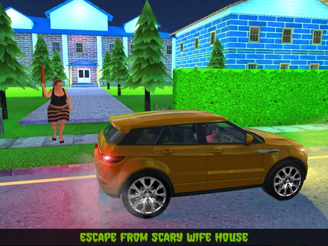 Neighbor's Scary Wife