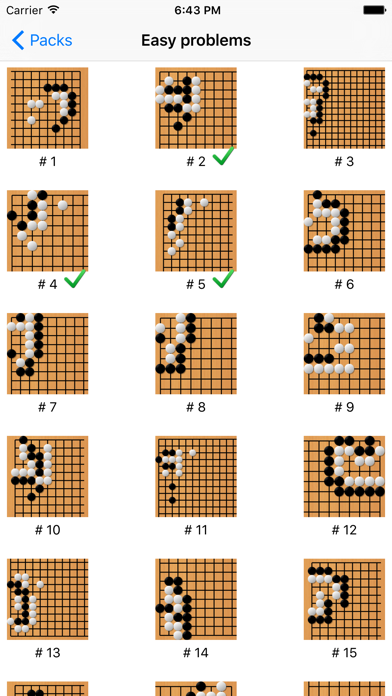 Tsumego Pro (Go Spiel)Screenshot von 1