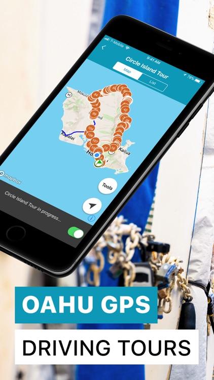 Oahu Driving Tours & Walking screenshot-0