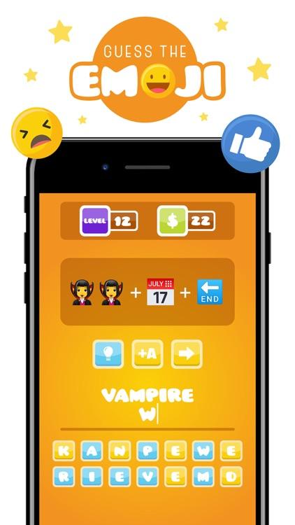Guess The Emoji Challenge Quiz screenshot-3