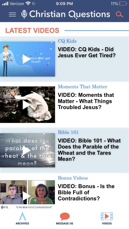 Christian Questions screenshot-9