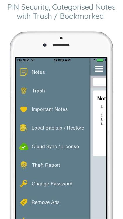 Notepad - An Organized Notes screenshot-5