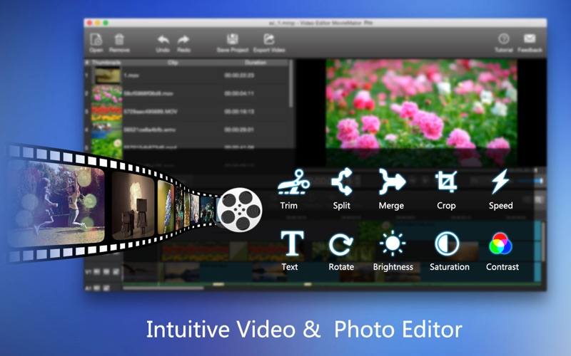 Screenshot #1 pour MovieMator Video Editor Pro