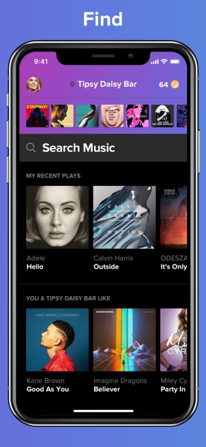 TouchTunes on the App Store
