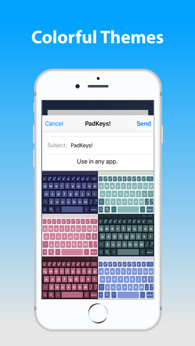 PadKeys Keyboard Screenshots